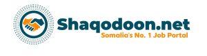 Somalia's No.1 Job Portal.